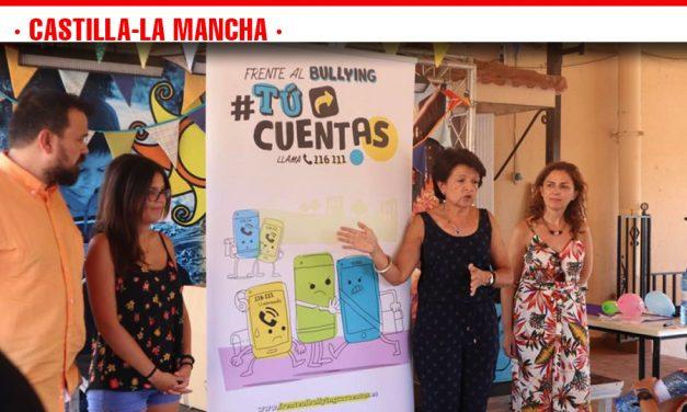 El programa #TúCuentas del Gobierno de Castilla-La Mancha contra el acoso y ciberacoso llega a los campamentos de niños y jóvenes