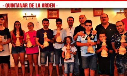 70 participantes en el torneo de Feria de Ajedrez en Quintanar de la Orden