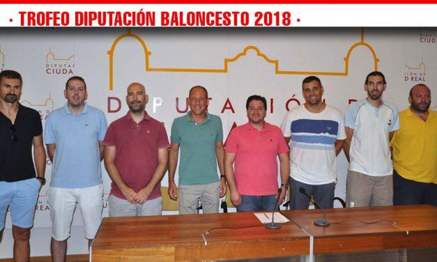 Presentado el Trofeo 'Diputación Provincial de Baloncesto' 2018, con sorteo de los enfrentamientos