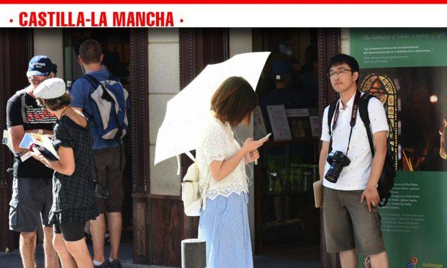 Castilla-La Mancha alcanza récord de empleo turístico en el mes de julio, con cuatro meses consecutivos de máximo histórico registrados