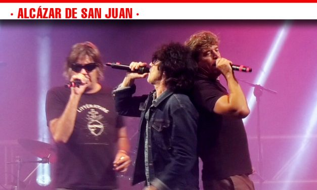 El Rock 'n' Roll de La Frontera, La Guardia y Danza Invisible volvió a llenar el estadio de Fútbol en la serie de conciertos solidarios de Alcázar de San Juan