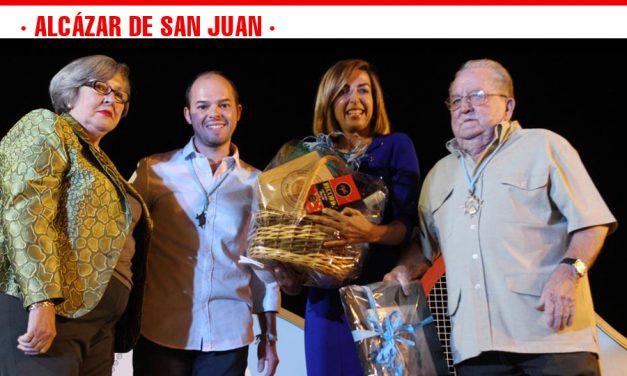 Mariló Leal emocionó a los asistentes al pregón de las fiestas de la vendimia de Alcázar de San Juan