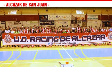 Presentación de los equipos  U.D Racing de Alcázar ante su afición