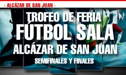 Este fin de semana se celebran las finales del trofeo de feria de fútbol sala en primera y segunda categoría senior