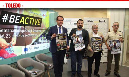 La noche 'BEACTIVE', principal atractivo en Toledo de la Semana Europa del Deporte que impulsa el Gobierno de Castilla-La Mancha
