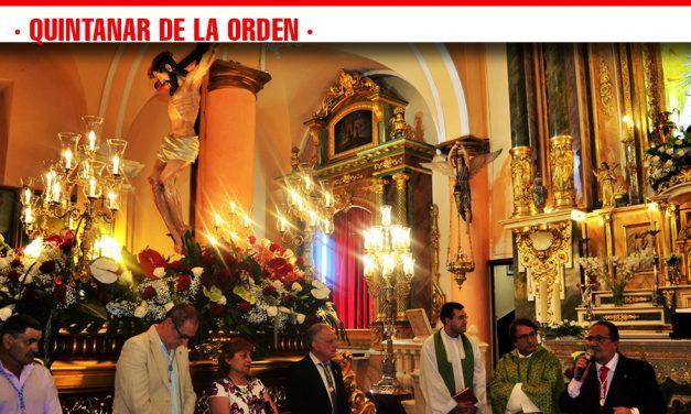 Quintanar de la Orden celebra la festividad del Cristo de Gracia, patrón de la localidad