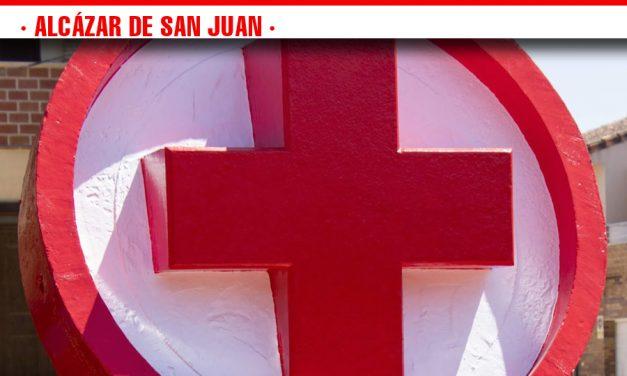 Amplio despliegue de Cruz  Roja en la Titan de La Mancha en Alcázar de San Juan