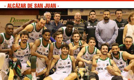 Fundación CR La Roda, vencedor del Trofeo Masculino de la JCCM en una victoria muy ajustada frente al CB Villarrobledo por 67 – 63