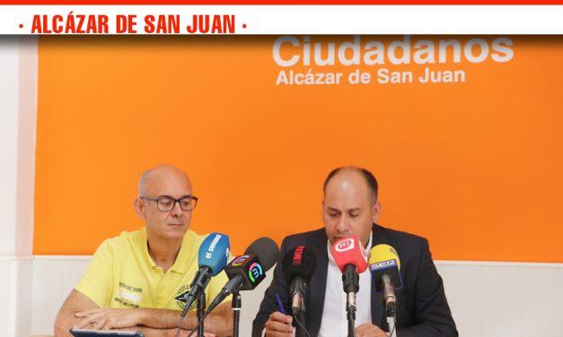 Ciudadanos señala los proyectos resultantes en los presupuestos participativos como muestra de la falta de un plan de mantenimiento en Alcázar