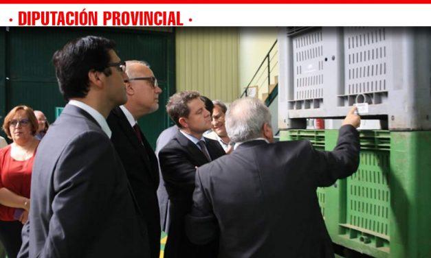 El presidente de la Diputación reitera la importancia de apoyar al sector agroalimentario de la provincia