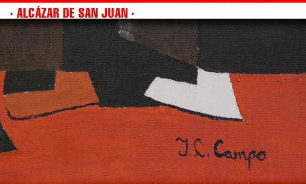José Luis Campo muestra sus obras por primera vez al público alcazareño