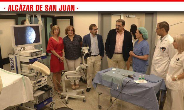 Más de 700 mujeres ya han sido intervenidas en la nueva sala de pruebas especiales del Servicio de Ginecología del Hospital 'La Mancha Centro'