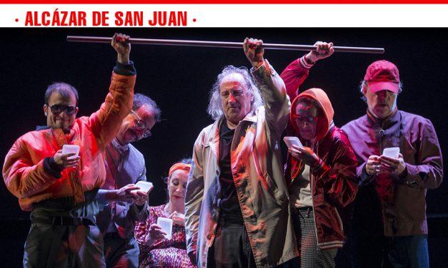 """Joglars subirá a las tablas del Auditorio Municipal de Alcázar de San Juan su sátira reflexiva, """"Zenit. La realidad a su medida"""""""