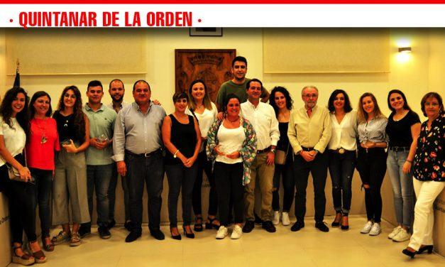 Clausura del exitoso programa de becas para jóvenes estudiantes de Quintanar de la Orden en su Ayuntamiento