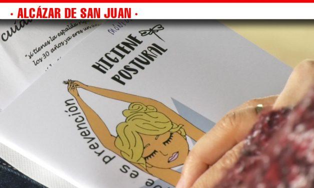 Docentes de toda Castilla-La Mancha se reúnen en Alcázar de San Juan para formarse en Higiene Postural y Espalda Sana