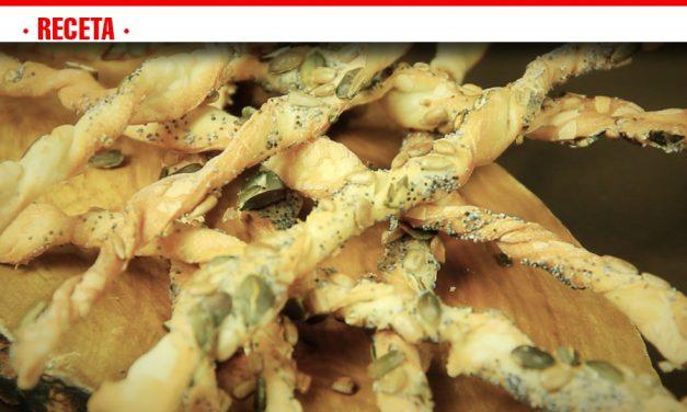 Receta de hoy: palitos con semillas