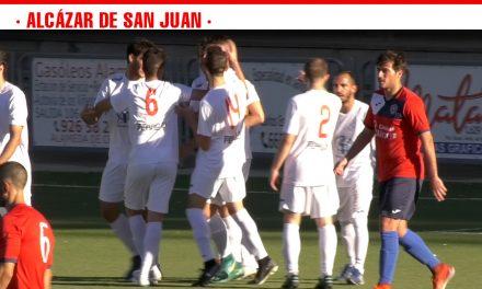 Victoria del Daimiel frente al Sporting de Alcázar por 0-1 en la sexta jornada del Grupo 1 de La Primera Autonómica Preferente