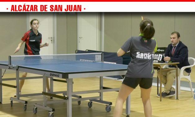 Por primera vez en la historia, un equipo femenino alcazareño de tenis de mesa disputa la Liga de Primera Nacional Femenina en casa