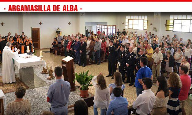 La Policía Local de Argamasilla de Alba celebra el Día de los Ángeles Custodios