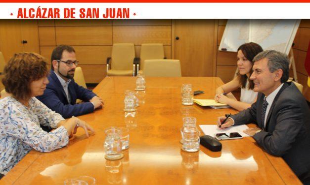 El Ayuntamiento alcazareño presenta el proyecto de viabilidad para la implantación de la Plataforma Logística Intermodal ante el Ministerio de Fomento