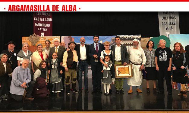 Coros y Danzas 'Mancha Verde' nombrada Socia de Honor del Centro Cultural Castellano-Manchego de Latina en Madrid