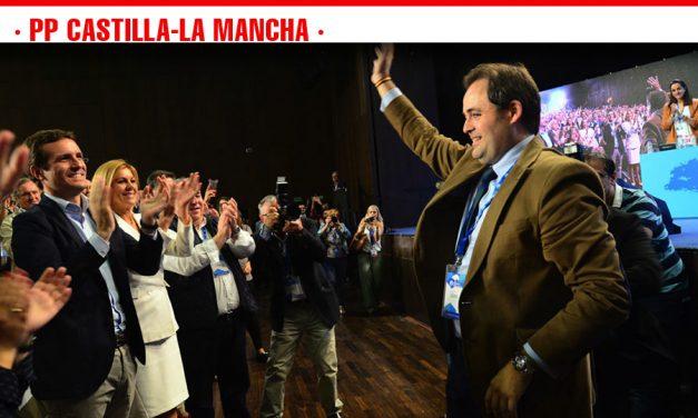 Paco Núñez es elegido presidente del Partido Popular de Castilla-La Mancha con el 92,98% de los votos