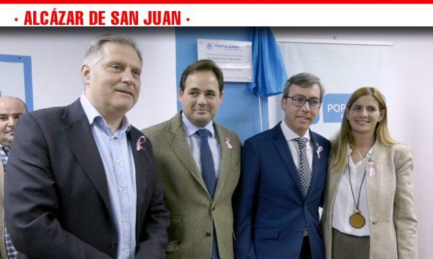 El Partido Popular de Alcázar de San Juan inaugura su sede local con la presencia de su presidente regional Paco Núñez