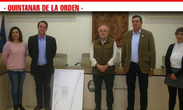 El Ayuntamiento de Quintanar presenta el proyecto de la calle Grande, arteria principal y comercial