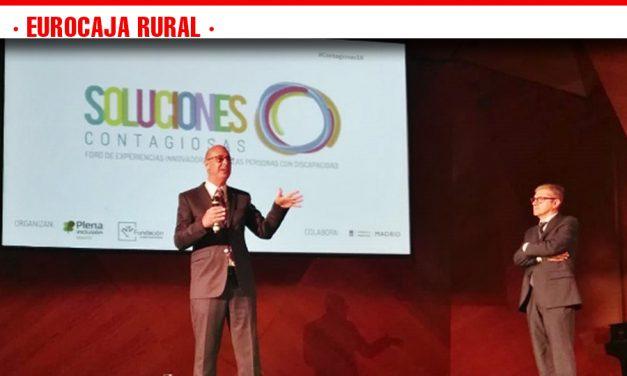 Fundación Eurocaja Rural y Plena Inclusión Madrid acercan experiencias innovadoras en inclusión laboral en la IV edición del 'Foro Soluciones Contagiosas'
