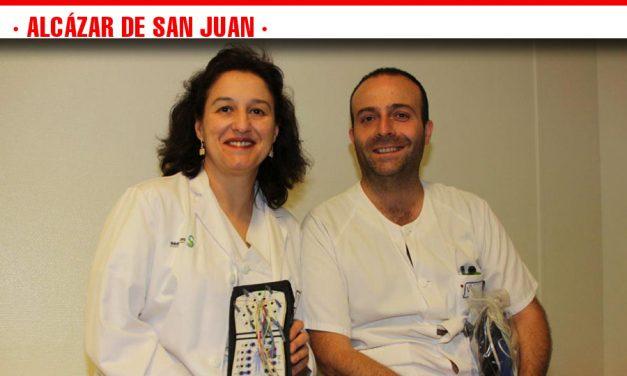 El aumento de actividad en polisomnografías permite eliminar la lista de espera en esta técnica que detecta patologías del sueño en el Hospital de Alcázar de San Juan