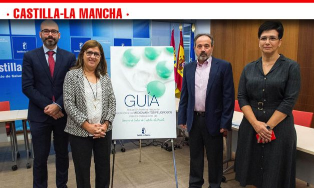 Castilla-La Mancha se sitúa a la cabeza de la regulación en materia preventiva frente al riesgo de exposición de los trabajadores del SESCAM a los medicamentos peligrosos