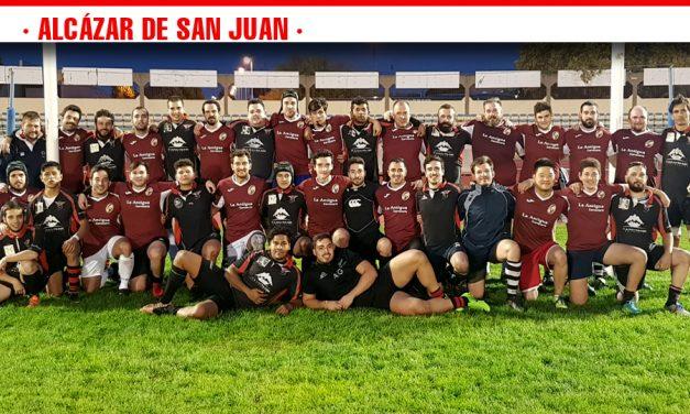 El nuevo equipo de rugby Los Gigantes de La Mancha disputa su primer partido de liga en Puertollano