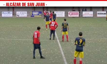 Victoria del Sporting de Alcázar por 2-0 ante el Atlético Puertollano que sitúa a los alcazareños entre los 10 primeros de la tabla