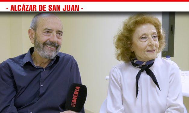 Emoción, amor y miedo llenan páginas de las 'Cartas de amor'  que Julia Gutiérrez Caba y Miguel Rellán han puesto sobre las tablas del Teatro Auditorio de Alcázar de San Juan