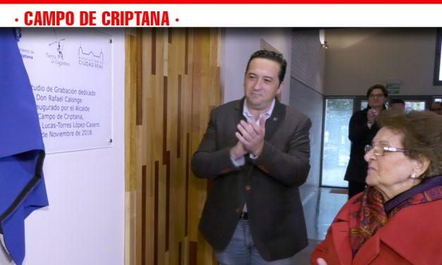 Campo de Criptana inaugura el Estudio de Grabación Rafael Calonge
