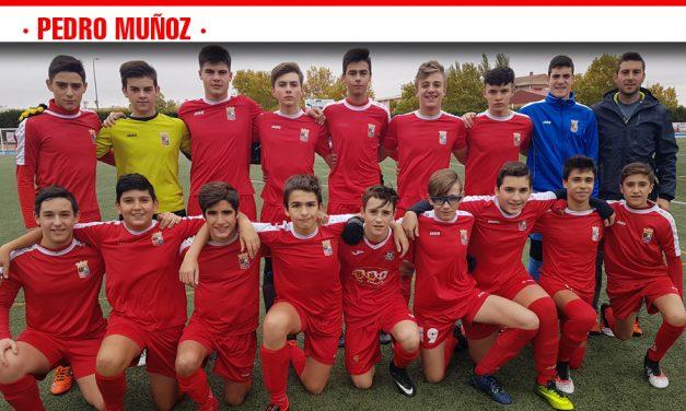 El equipo del PMD Pedro Muñoz vence con solvencia en su primer test liguero al Atlético Tomelloso B