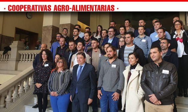 Los jóvenes cooperativistas piden facilidades para acceder a la tierra y apoyo a las inversiones