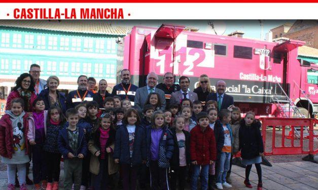 Más de 3.750 niños de Castilla-La Mancha han podido conocer en sus colegios la utilidad del Teléfono Único de Emergencias 1-1-2