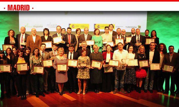 ACEVIN premió el trabajo realizado por empresas y organismos públicos en la promoción del enoturismo