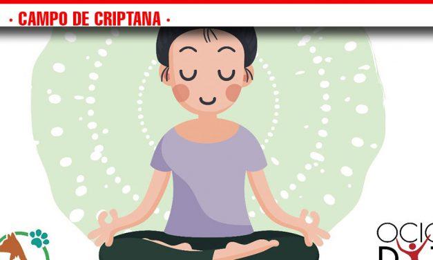 Yoga solidaria en Campo de Criptana