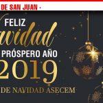 Uvas con amigos, sorteo de 1.000 euros y roscón solidario, entre las actividades propuestas por Asecem en la Campaña de Navidad