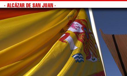 Alcazareños nacidos en el año de la Constitución Española protagonizan la conmemoración del 40 aniversario de la Carta Magna en España