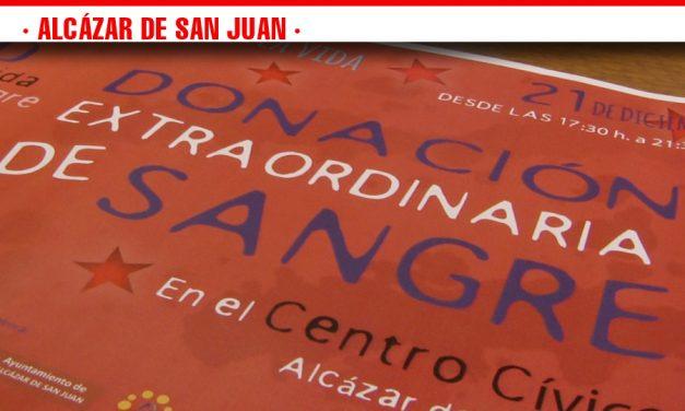 El Centro Cívico acogerá la Maratón Navideña de Donación Extraordinaria de Sangre este viernes 21 de diciembre