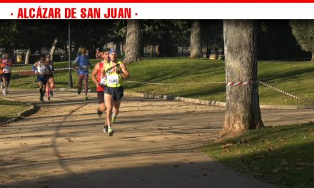 Récord de participación con cerca de 2.000 corredores en el XXIII Cross de la Constitución celebrado en el Parques Alces de Alcázar de San Juan