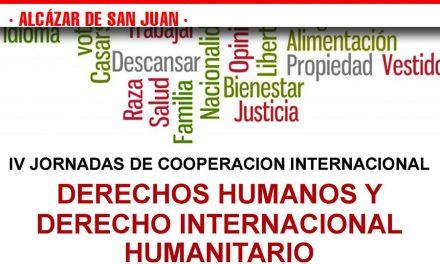Cruz Roja en Alcázar de San Juan desarrolla las IV Jornadas de Cooperación Internacional, Derechos Humanos y Derecho Internacional Humanitario