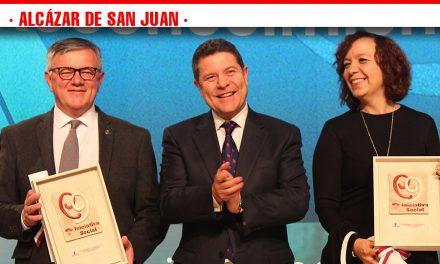 El Ayuntamiento de Alcázar reconocido en los Premios a la Iniciativa Social de Castilla La Mancha