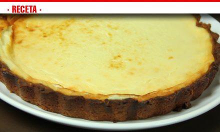 Disfruta el puente con una cremosa tarta de 3 quesos