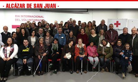 Cruz Roja Española en Alcázar de San Juan, celebra el Día Mundial del Voluntariado