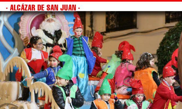 Colofón a las Fiestas Navideñas con la Cabalgata de Reyes