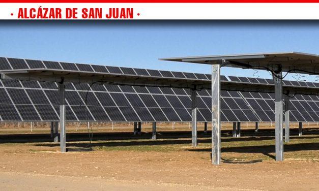 Visita a las obras de las plantas fotovoltaicas del Complejo Solar ubicado en Alcázar de San Juan